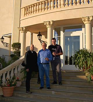 Die Firmengründer <br />Torsten Hentze, Bert Effing und Frank Audehm