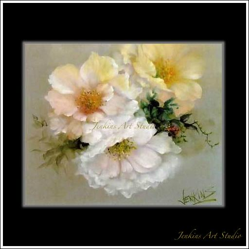 Old fashion musk Roses