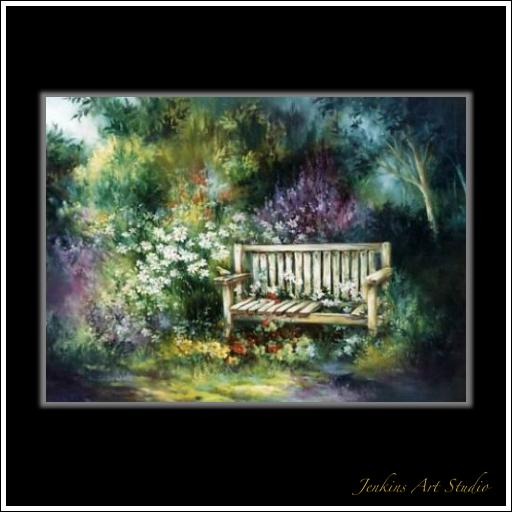 The old Garden Bench